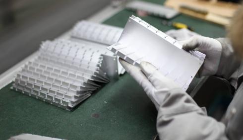 中国信发铝精深加工智慧产业园加快推进传统产业转型升级