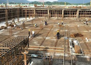 雷锋水质净化厂(一期)项目已完成封顶,预计7月底具备通水条件