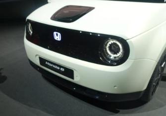 本田e电动车将在年内发布并投产量产版车型,计划2020年起交车