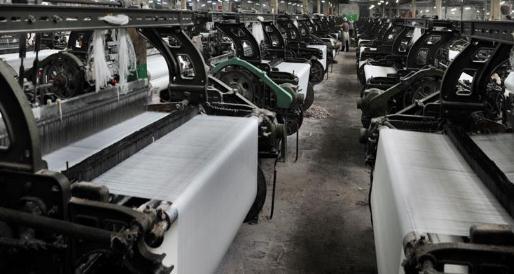 2019年一季度纺织机械企业产品出口保持稳定,呈略微增长态势