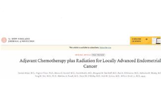 联合放化疗仍无法阻止子宫内膜癌复发