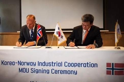 挪威佐敦与韩国现代重工业签署新型船舶涂料谅解备忘录