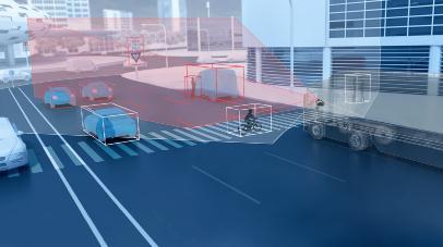 采埃孚设计开发出商用卡车Dual-Cam双镜摄像头,可与ADAS技术一起使用