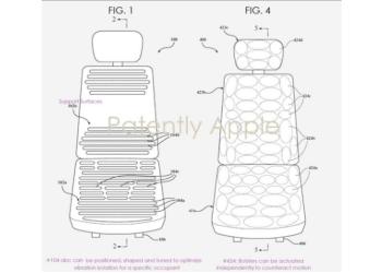 苹果泰坦项目专利与运动控制座椅系统有关