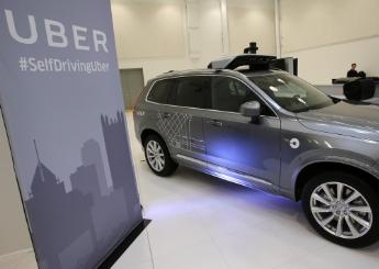 优步和沃尔沃联合研发出最新款沃尔沃自动驾驶汽车