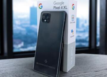 """谷歌Pixel 4 XL真机照曝光:采用""""浴霸""""设计,后置三摄"""