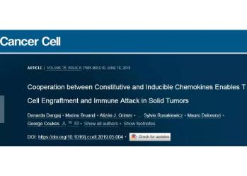 路德维希癌症研究所研究员成功破译了癌症和免疫细胞之间的分子对话
