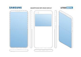 三星新专利曝光:描绘了手机背面副屏的设计