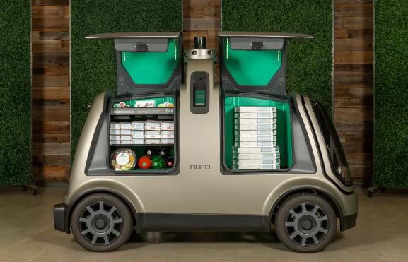 Nuro与达美乐披萨合作,推出无人驾驶车辆交付披萨外卖服务