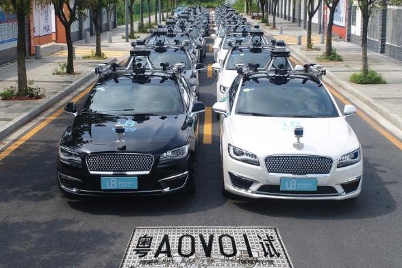文远知行拿下广州20张智能网联汽车路测牌照