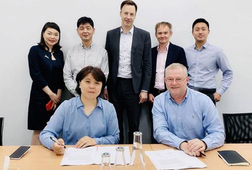 上海朴道水汇与瑞典Nordaq达成战略合作协议,助力中国健康饮水发展
