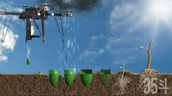 英国公司使用无人机大规模植树,60个无人机每年可以种植10亿棵