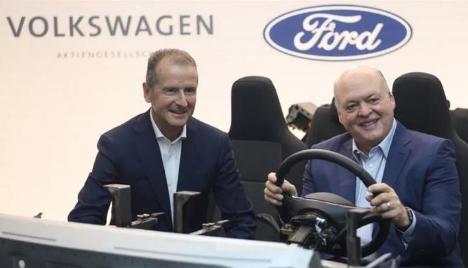 大众和福特联盟投资自动驾驶汽车公司Argo26亿美元