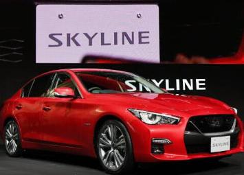 """日产将大幅改进高档车""""SKYLINE"""",并于9月上市"""