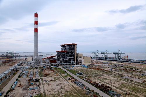 山钢日照基地2×35万千瓦自备电厂工程1号机组并网