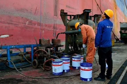 船舶涂装:油漆储存与使用、涂装前的准备工作、除锈等注意事项汇总