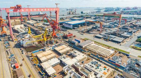 世界船厂排名,中国船厂最新排名,2019中国船厂订单排名前十位