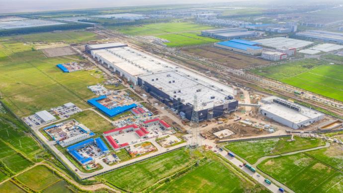 上海临港特斯拉超级工厂项目(一期)顺利取得首张综合验收合格证