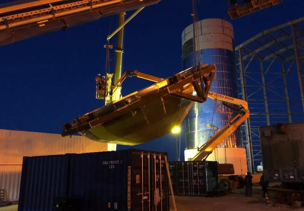 捷爾杰ULTRA BOOM系列產品相SpaceX太空軌道原型搭建現場