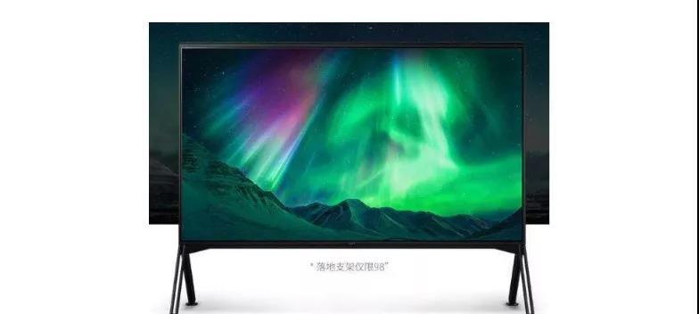 索尼率先推出85吋8K电视 友达为其提供面板