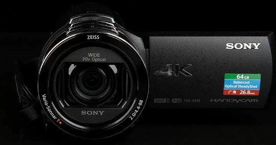 ?索尼4k摄像机哪个好?推荐索尼4K摄像机FDR-AX60