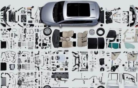 ?一辆汽车有多少个零件?