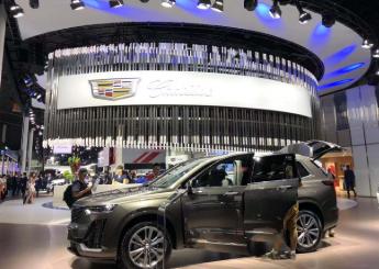 2019成都国际车展在中国西部国际博览城举行