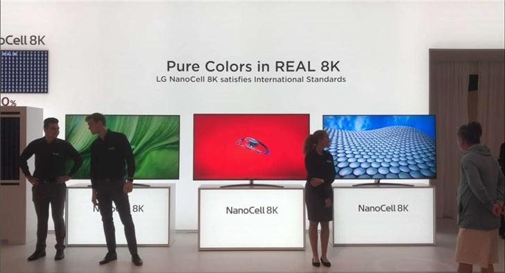"LG 首次公开""点名""三星:你们的 8K 电视不符合标准"