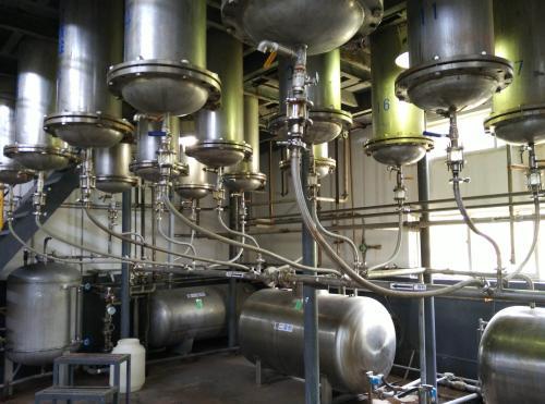 好消息!销售华南简阳站混油蒸馏装置顺利投产!