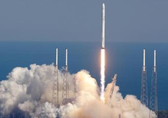 """我国""""一箭三星""""在太原卫星发射中心发射成功"""