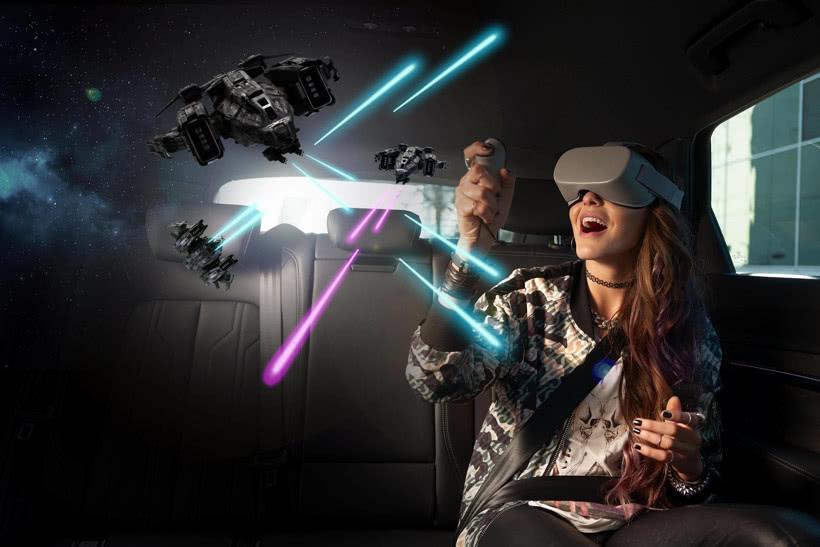 从奥迪剥离、成为保时捷和奔驰伙伴 HoloRide推出VR技术可防止晕车