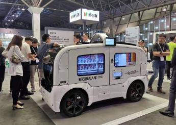新石器亮相2019华为全联接大会,新石器无人车自动驾驶算力再次升级
