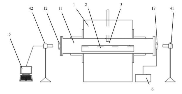高温熔体表面张力的测试装置的制作方法