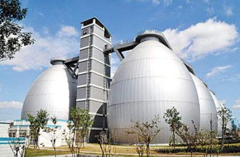 亞洲最大的污水處理廠:?白龍港污泥厭氧消化工程設計結構詳解
