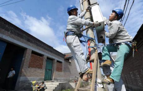 ?農村電網升級改造:從無電到有電,再到因電致富