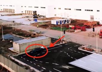 特斯拉Model 3电动汽车现身上海工厂测试跑道,或将由上海工厂生产