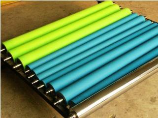 低表面張力的不處理膠輥應用于紡織行業