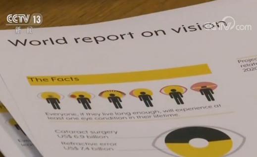 ?《世界視力報告》發布,全球有超過22億人視力受損或失明