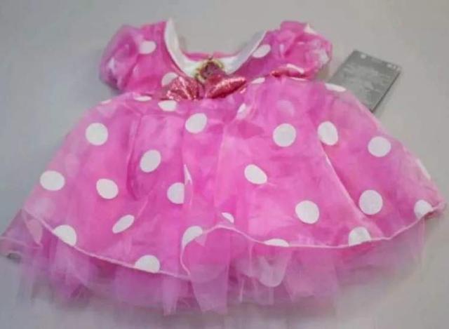 迪士尼米妮礼服/戏服粉红色面料pH值超标,中国待召回640件
