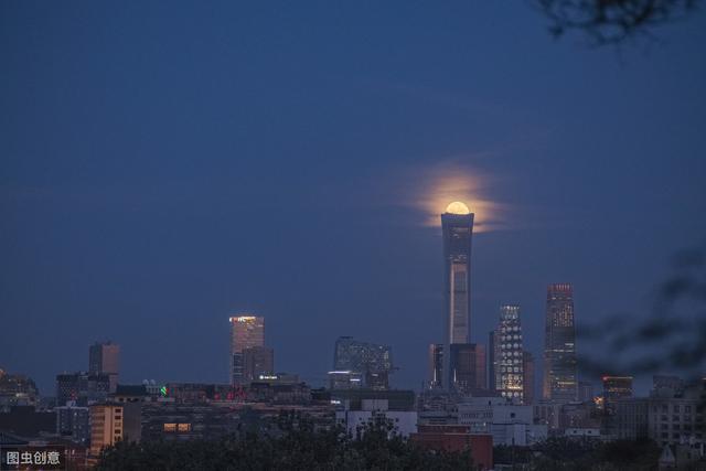 中国尊(即中信大厦CITIC Tower),北京第一高度新地标