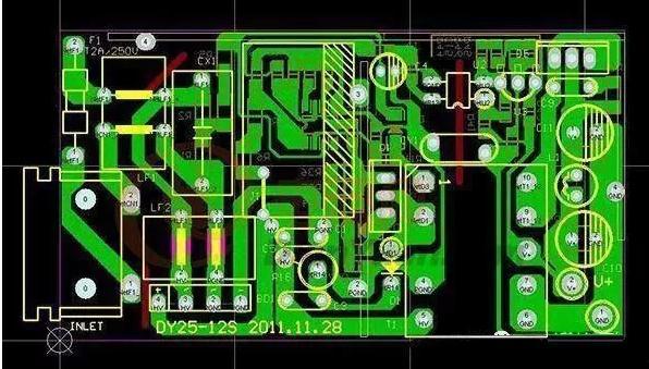 放大器印制电路板布线不合理,最容易产生干扰