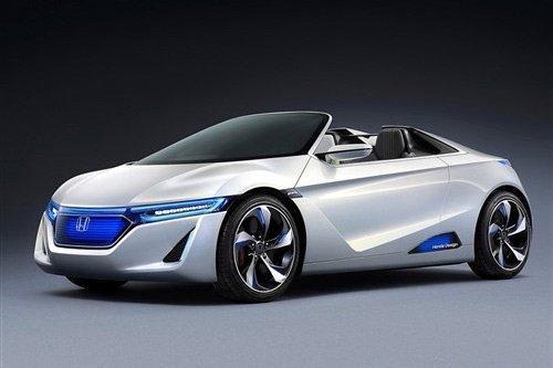 本田概念车Sports EV Concept、Urban EV外观设计申请专利