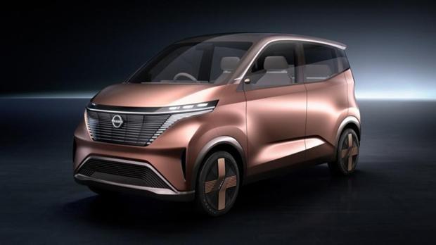 ?日产汽车发布IMk纯电动概念车,搭载自动驾驶等先进功能