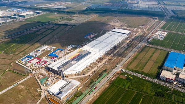 特斯拉上海超级工厂正式送电,即将进入投产