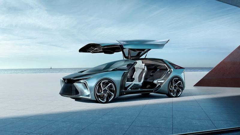 ?雷克萨斯首款纯电动概念车LF-30全球首发,搭载自动驾驶等技术