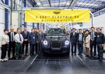 走进吉利伦敦电动汽车绿色工厂,见证第3000辆全新TX下线