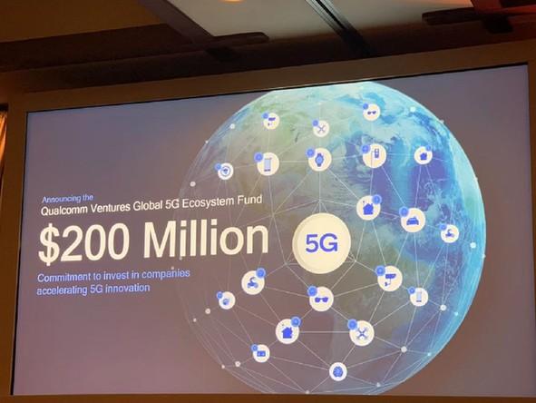?高通设立2亿美元5G投资基金,用于投资5G生态系统企业