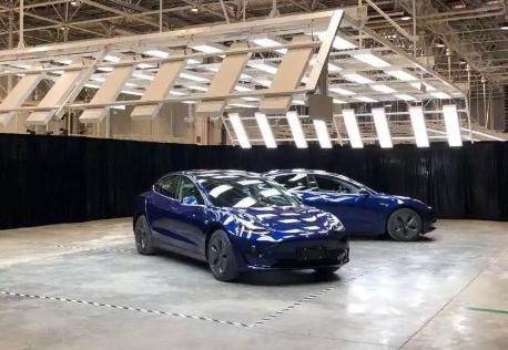 国产特斯拉Model 3有望今年年底进行小规模交付