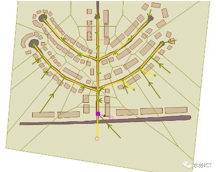 如何使用模型来确定调雨水蓄池的体积?