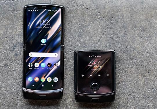 摩托罗拉发布Razr折叠手机:2020年1月发货,售价1499美元